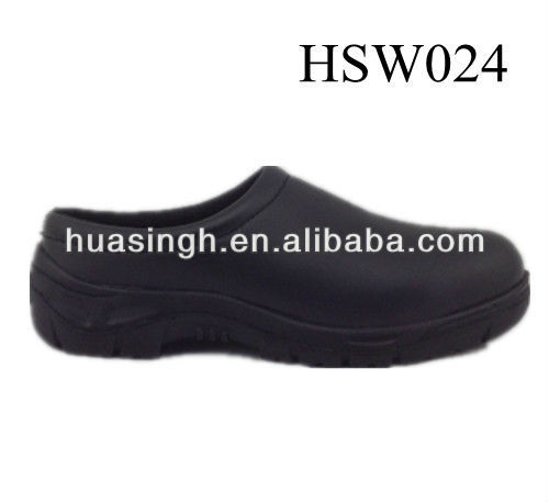 Western Europe widely used lightweight super-skidproof sole kitchen shoes for chef