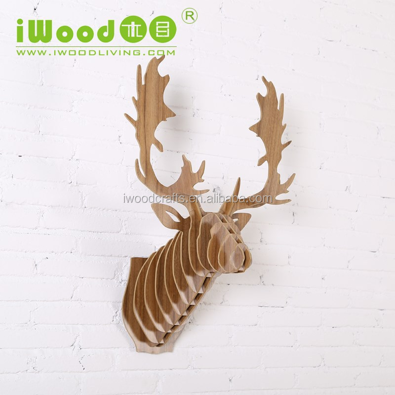 Reindeer art minds wood crafts, wood crafts product
