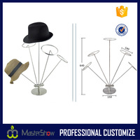 Hat - Cap Display Retail Hat Cap Rack Metal display Stands