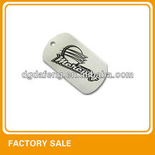 basketball amy blank dog tag