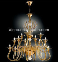 Hot Sell Modern LED Muranoo Glass Chandelier Pendant Lighting