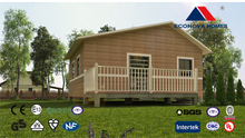 modern module European standard use camp prefab house with solar energy and intelligent system