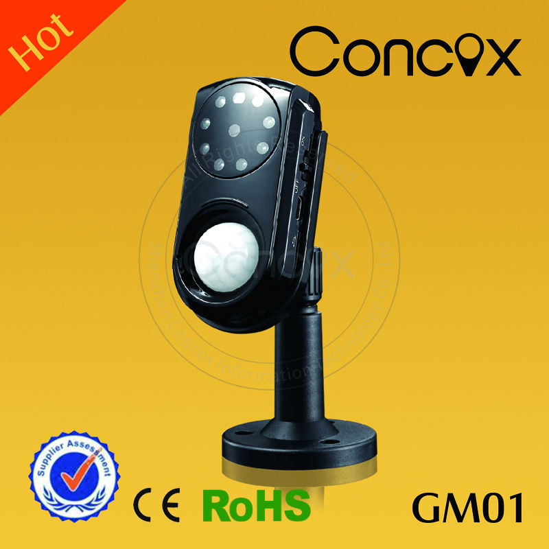 Concox gsm motion detector GM01 remote control hidden camera/ mini wireless hidden camera/ cheap wireless alarm system