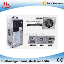 multi-usage ozone sterilizer/ air purifier LY 903A 3g/h for car,house room,food,air