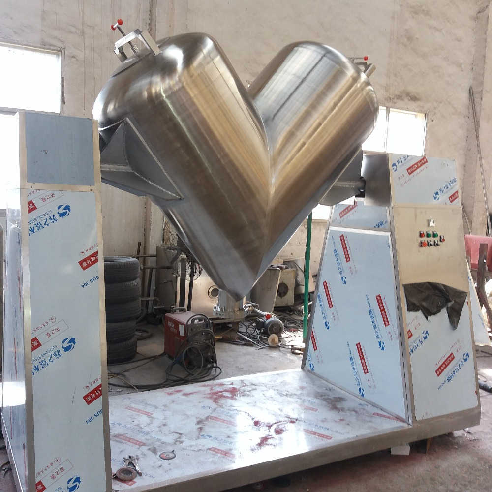 Powder Blender Mixer with automatic control pannel