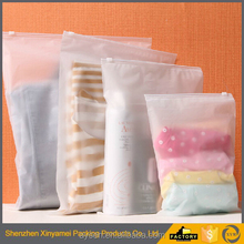 clear soft vinyl pvc cosmetic zipper pouch/Plastic standing pvc zipper pouch bag with tear notch for snack packaging/zipper bag