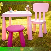 Promotion gift Hot selling new desgin style High Quality plastic PP colorful foldable Cartoon kids stool baby low chair