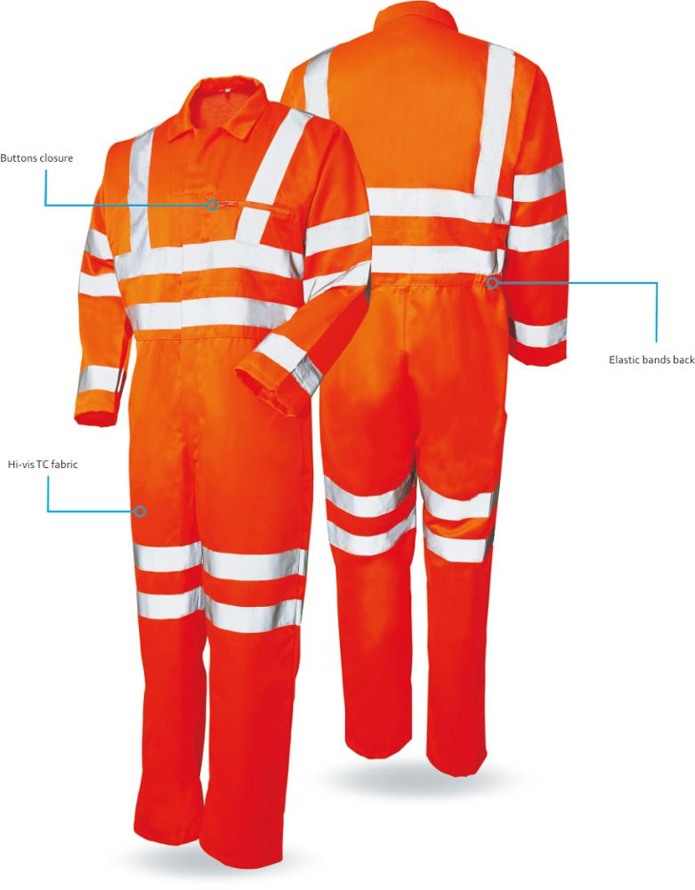 Custom Safety Fire Retardant Cotton Clothing Like Fr Coverall/Safety Workwear