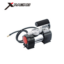 Xracing NMAC001C Mini 12V Car Air Compressor Electric Tire Infaltor Pump