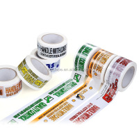 Custom high quality logo printed adhesive tape packagin paper bopp tape