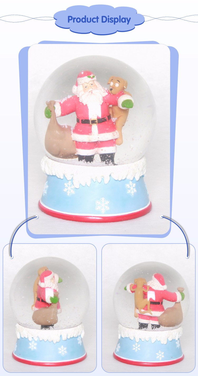 Factory Direct Sales Promotional Gift Picture In A Snow Globe