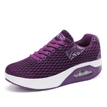 cheelon shoes 2017 fitness step platform air mesh ladies casual daily wear shoes