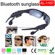 New Style 2015 Fashion Sunglasses with TFcard bluetooth camera