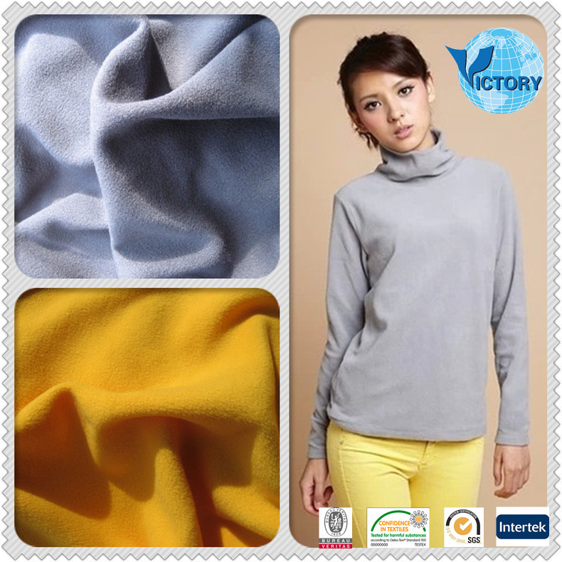 comfortable French Terry Fleece Knitting Fabrics for garments