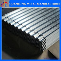 regular zinc coating metal roof tile