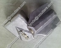 construction flat teeth /bits/tungsten carbide weld on bits