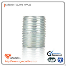 galvanized malleable iron hex nippels