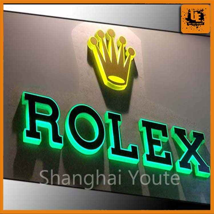 High quality beautiful alphabet letter light box / led display / love alphabet letters,curved light box with low price