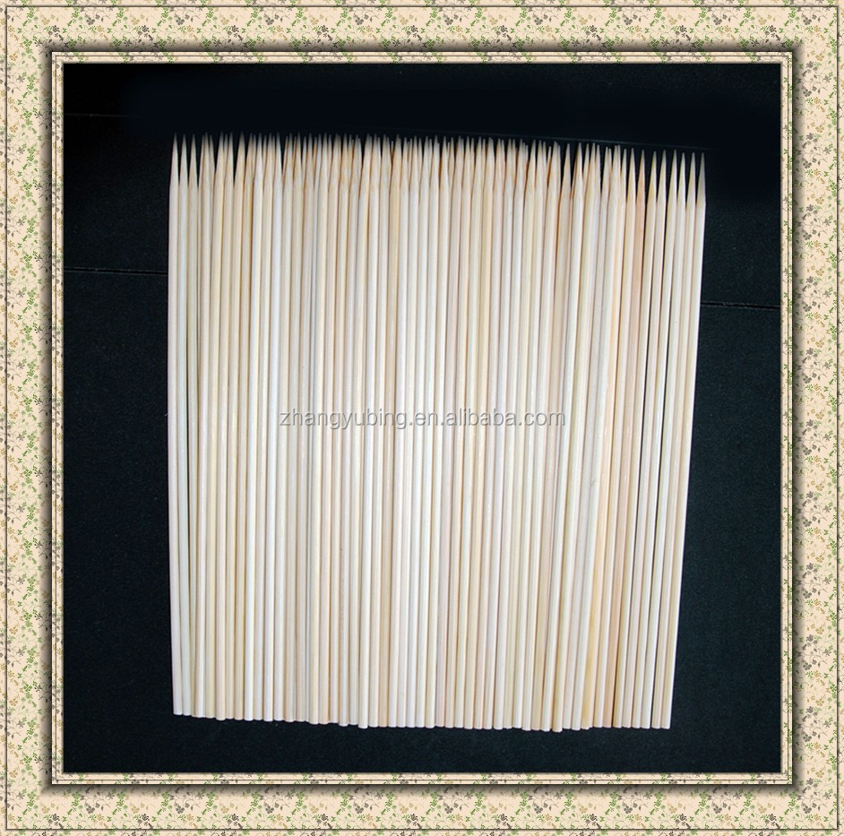 Whosale BBQ bamboo skewers