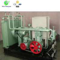 Hydrogen, Oxygen, Helium, Water cooled, Oil-free 10Nm3/h Capacity Gas Compressor