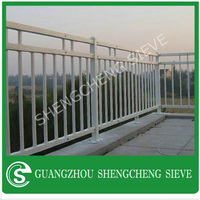 home decoration factory indoor iron stair railings and wrought iron railing parts