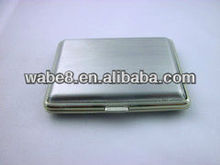 classy retro sliver colour metal cigarette case for 16pcs cigarettes