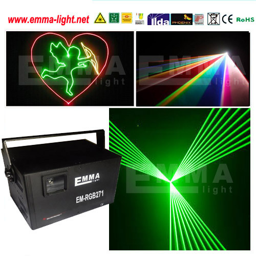 dj disco logo advertisment / rgb 3d laser / 5w rgb multi color ilda text laser light