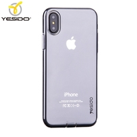 2018 mobile phone accessories 0.82mm tpu phone case for iphone x crystal case+cases for iphone x