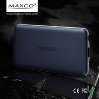Maxco emergency smartphone power bank charger 5000mah portable power bank with fc ce rohs