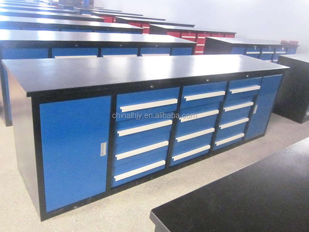 heavy duty steel tool box with drawers