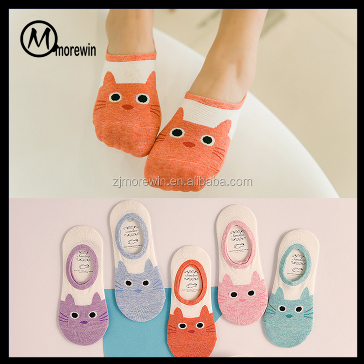 Morewin Brand girls no-show socks women ankle socks cute girls in ankle socks