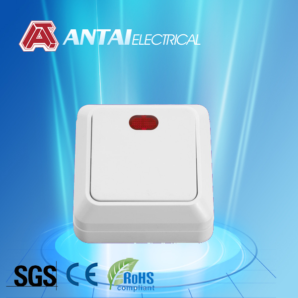 Euro pcb push button wall switch,day night switch