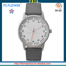 FS FLOWER - 40mm French Men Fashion Series Water Resistant q Japan Movement Quartz Watch Models SR626sw