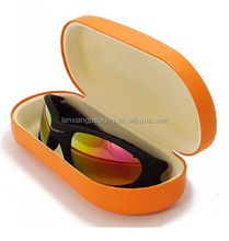100% Satisfaction Guarantee Hard Clamshell Sunglasses Cases With Metal Sunglasses Case Custom Logo