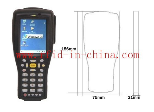 RFID Barcode Scanner with WiFi, Bluetooth and GPRS