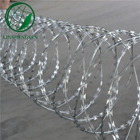 low price concertina razor barbed wire manufacture factory from ANPING