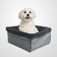 Travel Animals Cats Dogs Matter Companion Medium / Large Pet Car Booster Seat , Pets Up to 15-28lbs