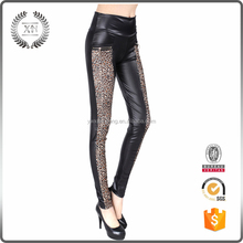 Popular Ladies Sexy Hot New Women Fashion PU Leather Legging Stretch Skinny Leggings