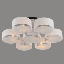 Modern LED Chandeliers&Pendant Lights 1 2 3 5 7-Ring Light Design