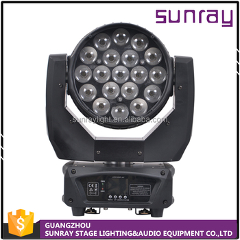 wholesale price DMX512 12/16 control channels rgbw 4 in 1 sharpy led zoom moving head light