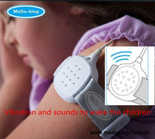 Strong Sounds+Vibration+ LED Light Personal Bedwetting Alarms to stop Girls or Boys wetting the bed