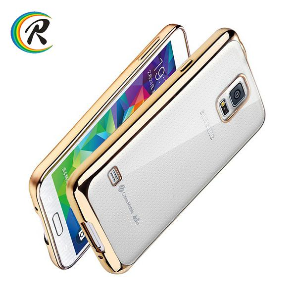 Best Price for samsung galaxy s4 mini case for Samsung S4 S5 soft Electroplated tpu mobile phone back cover case shell