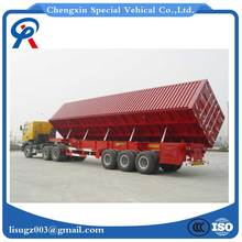 Best sale side dump semi trailer for sale China manufactures