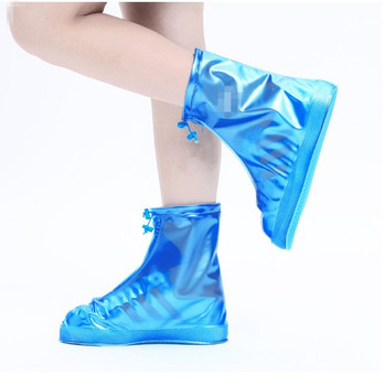 Custom Outdoor Reusable Waterproof PVC Rain Covers For Shoes