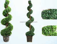 Indoor And Outdoor Artificial TOPIARY BOXWOOD