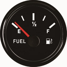 High Performance Diesel Gasoline 52mm Universal Fuel Oil Level Gauge <strong>Meter</strong> Indicator 0-190ohm