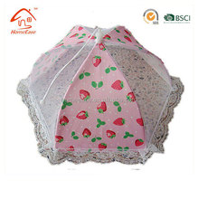 2018 Food cover, Mesh food cover/food tent with flowers