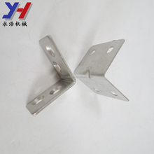 Custom made stainless steel L shape metal corner bracket