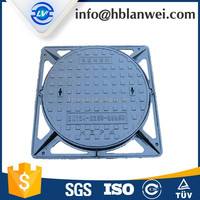 spheroidal graphite cast iron manhole cover
