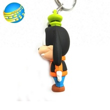 Promotional Gifts Custom Animal Soft Pvc Keyring